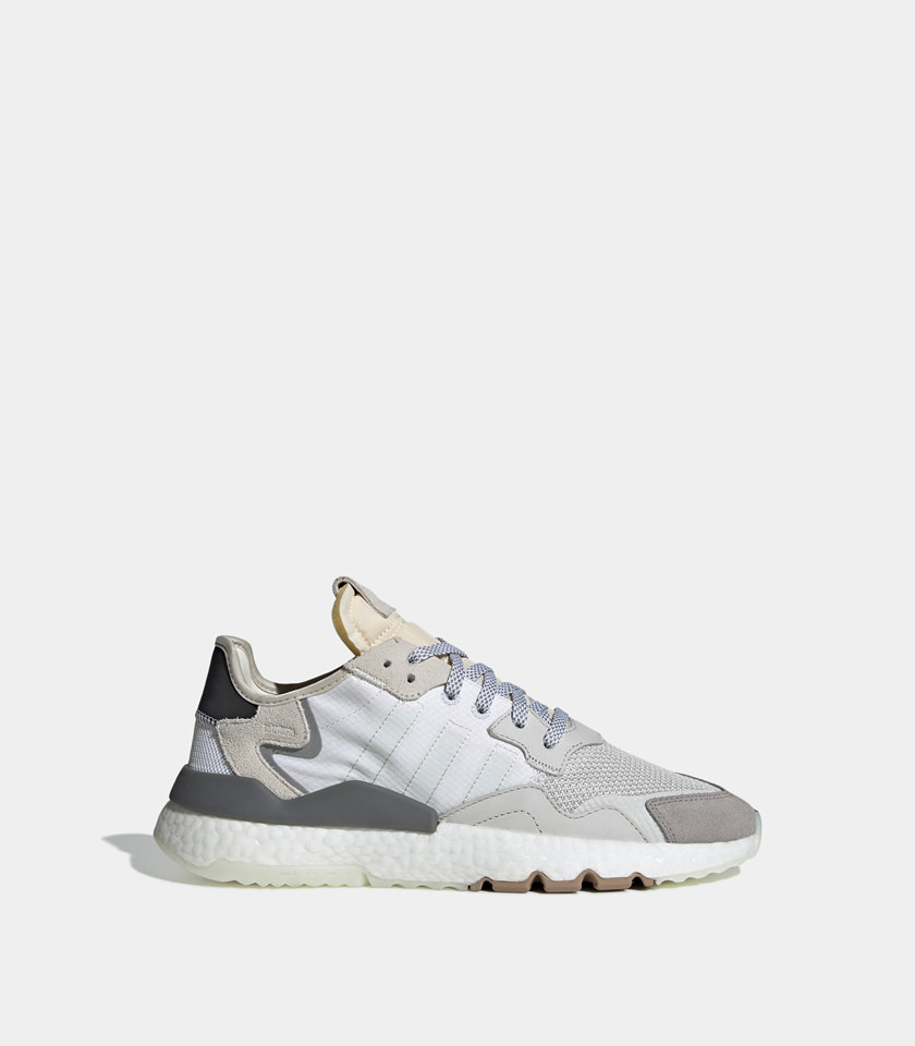the latest 1b8d1 568c4 ADIDAS ORIGINALS NITE JOGGER SNEAKERS COLOR WHITE  Playground Shop