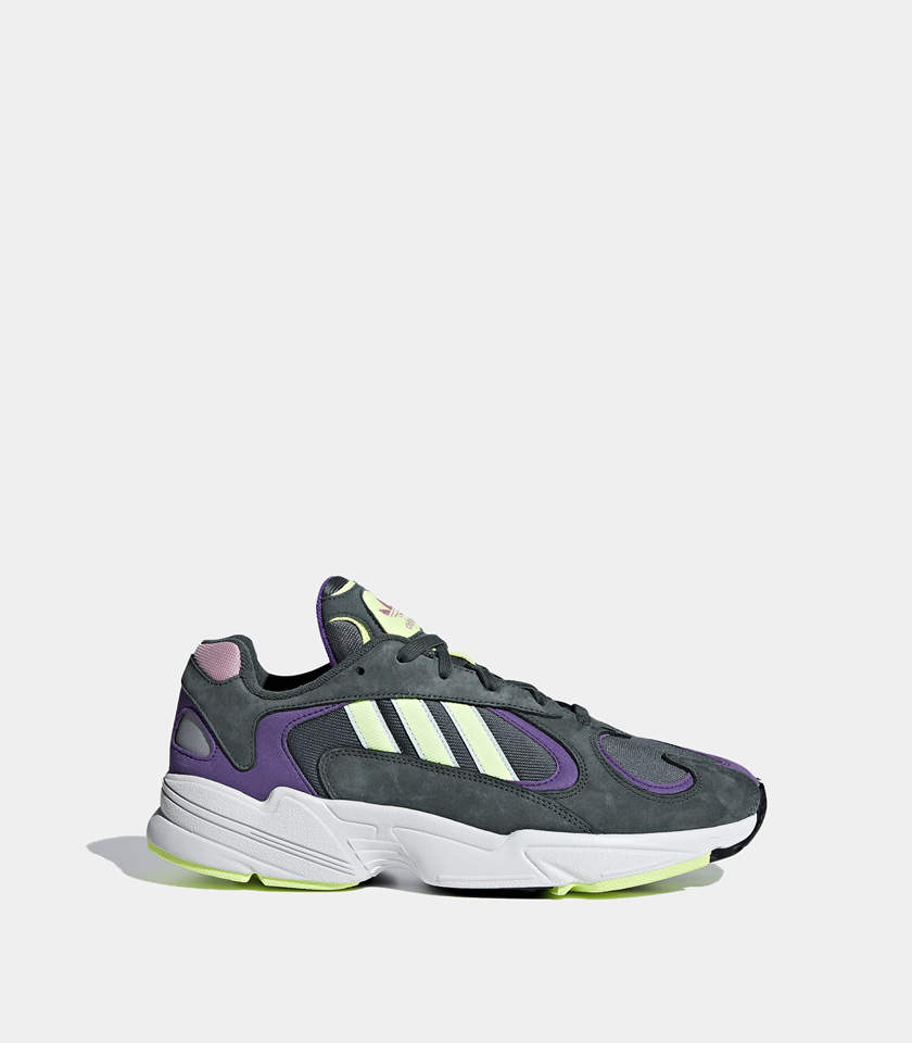 sneakers for cheap 8fe06 10066 ADIDAS ORIGINALS  YUNG-1 WOMEN'S SNEAKERS COLOR GREEN   Playground Shop