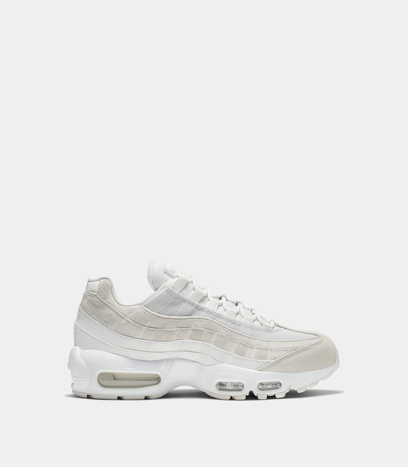 new arrival 0b8e0 f4a43 NIKE  AIR MAX 95 PRM SNEAKERS COLOR WHITE