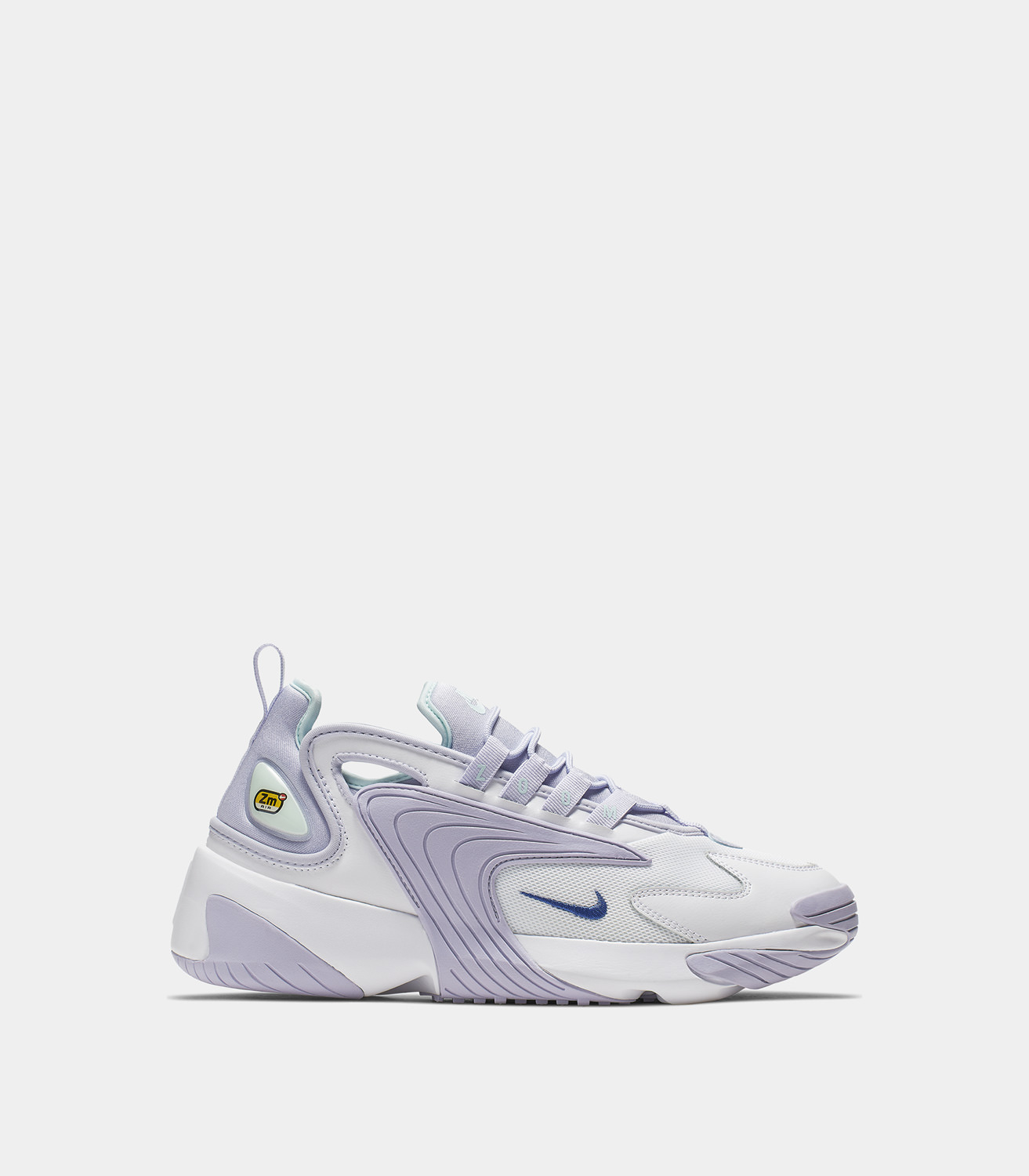 3aaf41d5e NIKE ZOOM 2K SNEAKERS COLOR WHITE LILAC