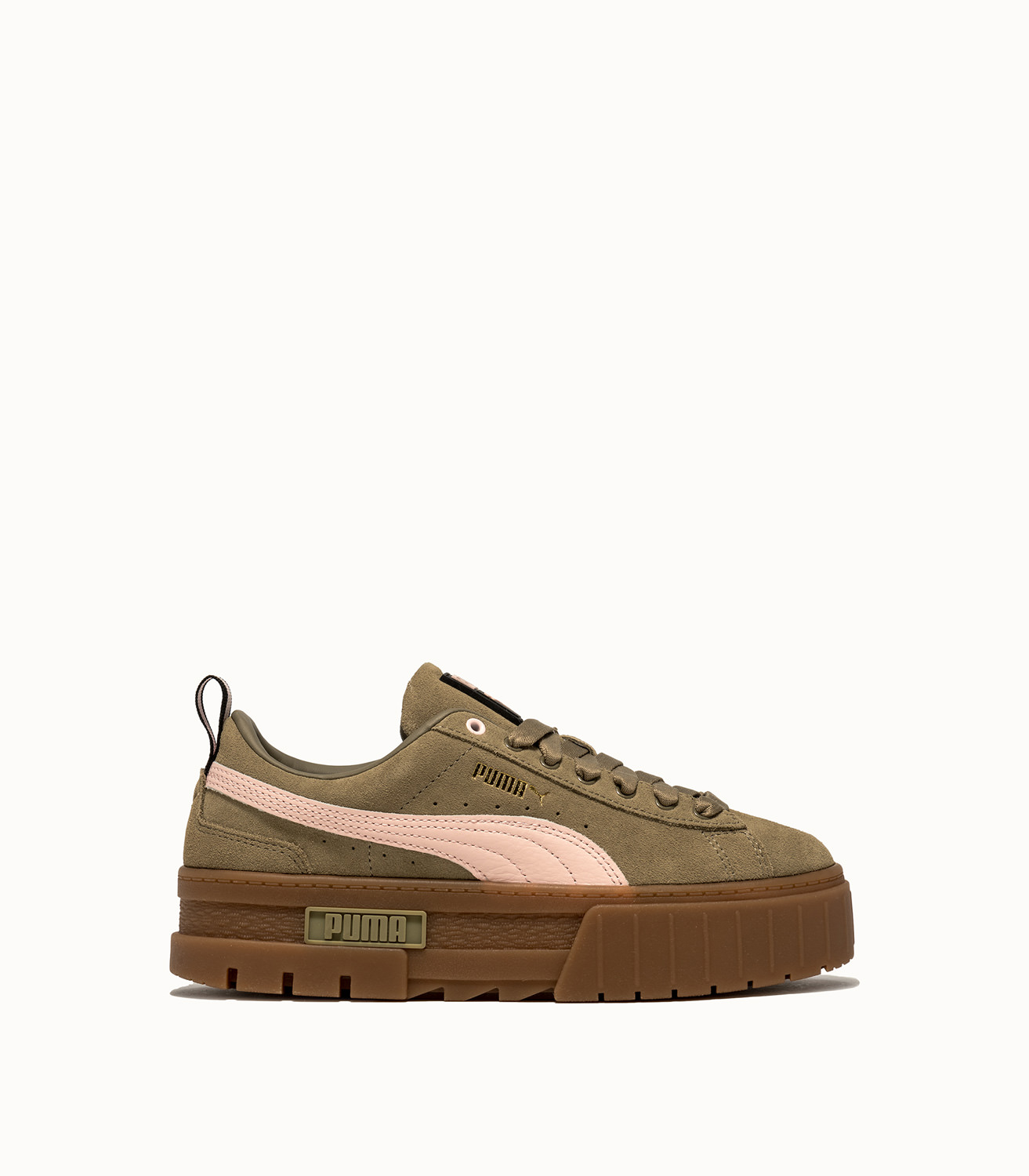 MAYZE GUM WN'S SNEAKERS COLOR GREEN