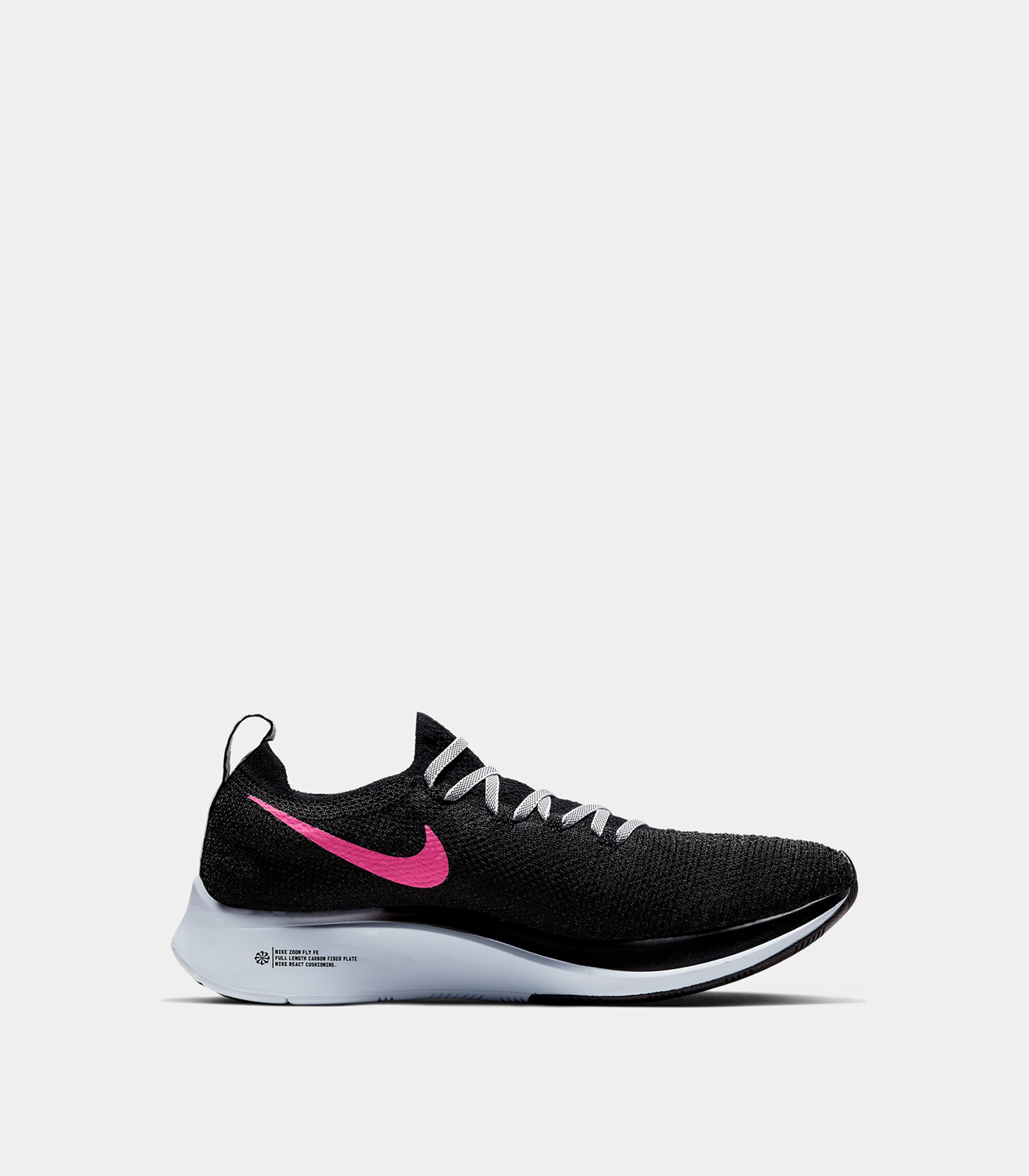 613d96f96ab02 NIKE ZOOM FLY FLYKNIT SNEAKERS COLOR BLACK