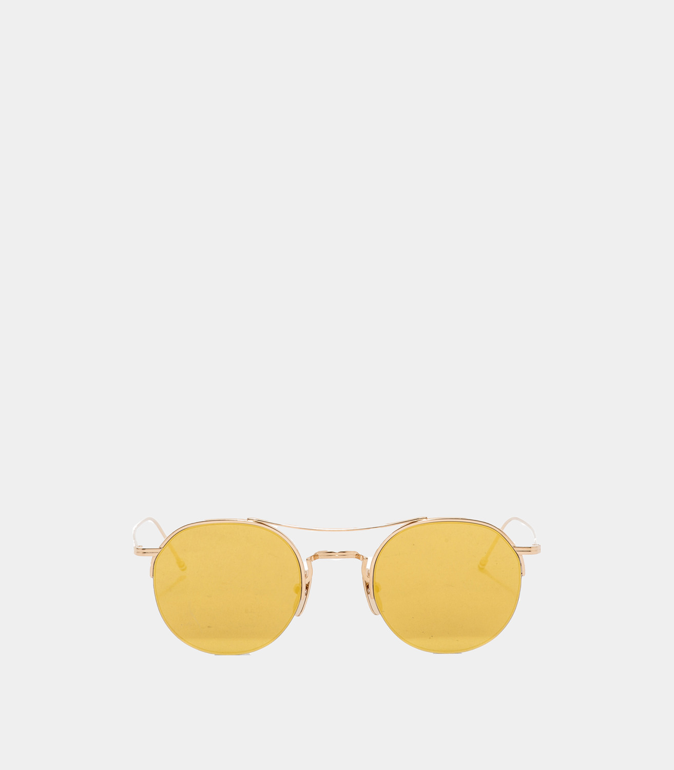 8405b8a93ce THOM BROWNE GOLD AND BROWN SUNGLASSES